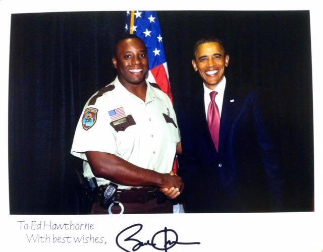 Ed Hawthorne, sports heros, Barack Obama